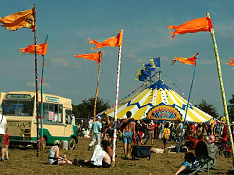 The Big Green Gathering was the UK's largest green festival