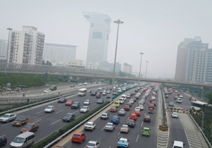 Beijing's polluted skies