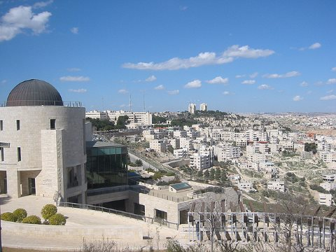 East Jerusalem: the view over Issawiya from the Hebrew University is lovely - but the realities of life in this tightly walled Palestinian neighborhood are anything but. Photo: Benjamin via Flickr.
