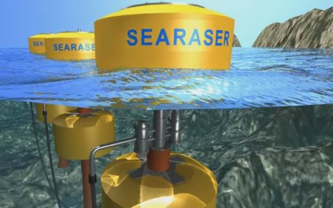 An artist's impression of the Searaser at work. Photo: DWE Ltd.