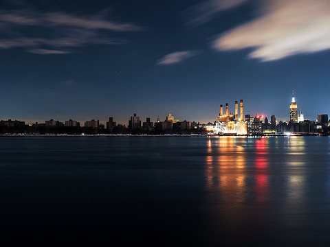 Hurricane Sandy brought this blackout to Lower Manhattan in October 2012. Unless Britain's nuclear power stations perform implausibly well this winter, we could well be sharing the experience. Photo: Reeve Jolliffe via Flickr.