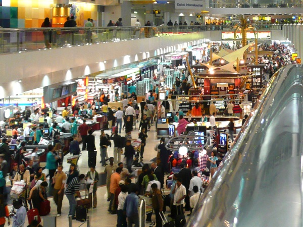 The consumer fun never stops! Dubai airport at 3am. But how long can it all last? Photo: joiseyshowaa via Flickr (CC BY-SA).