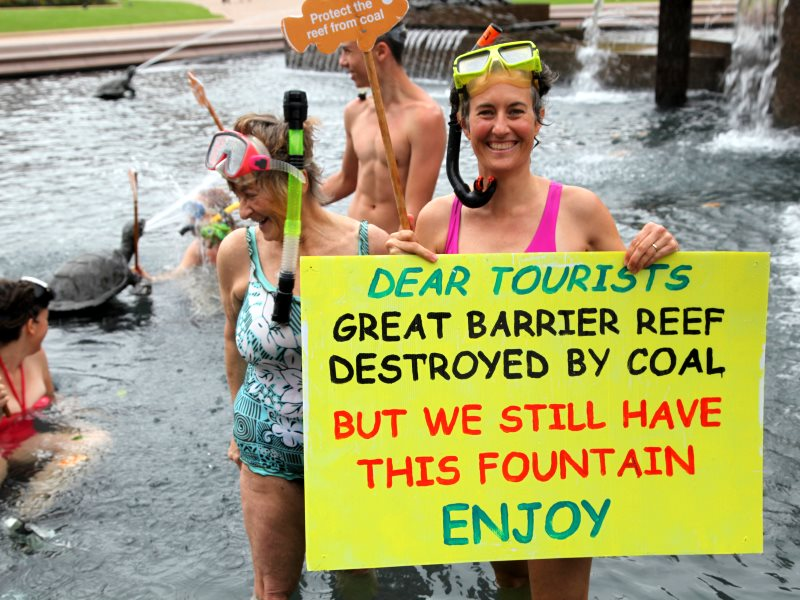 Sydney Action to Save the Reef, February 2013. Photo: Kate Ausburn via Flickr (CC BY).