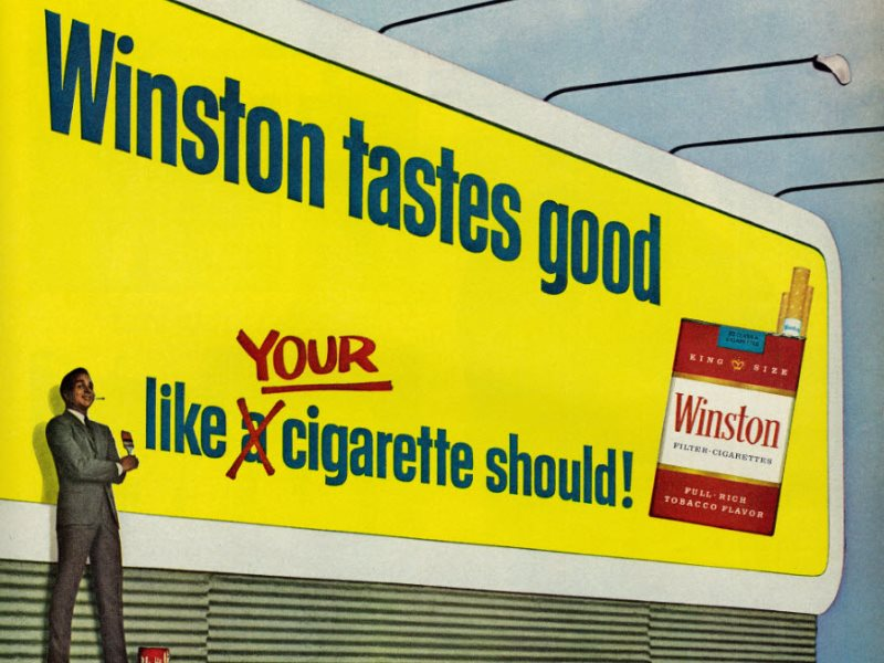 Back to the future with TPP and other 'trade deals'? Winston Cigarette advertisement published in Ebony magazine, July 1971, Vol. 26 No. 9. Photo: Classic Film via Flickr (CC BY-NC).