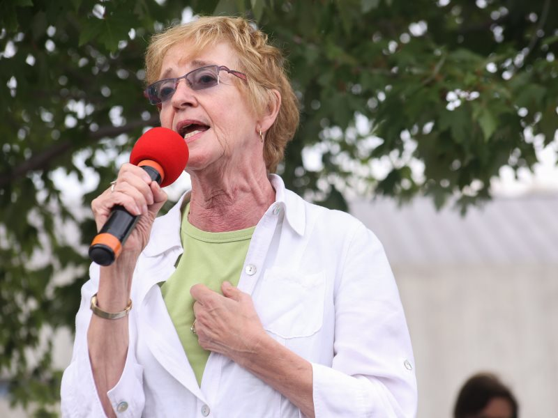 Maude Barlow at the Peoples Social Forum 2014. Photo: Ben Powless / Peoples Social Forum via Flickr (CC BY).