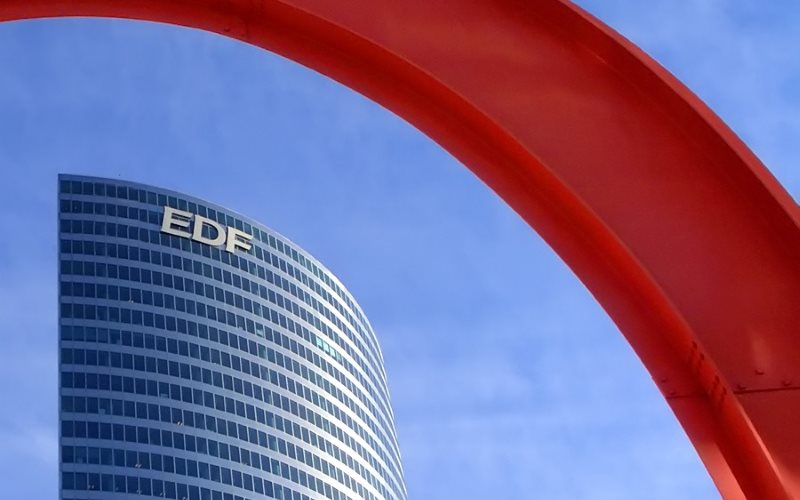 EDF's corporate HQ in La Defense, Paris, France. Photo: Olivier Durand via Flickr (CC BY-NC-ND).