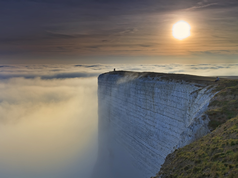 Beachy Head, East Sussex, by Rhys Davies (Commended in the Living the View Category)