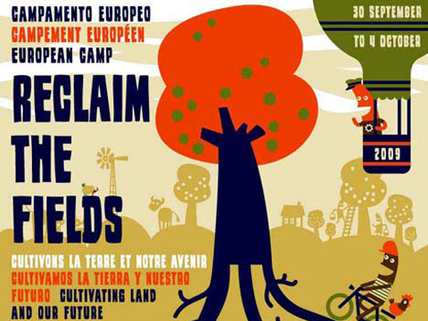 Reclaim the Fields poster