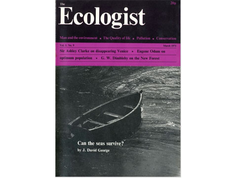 Ecologist Magazine March 1971