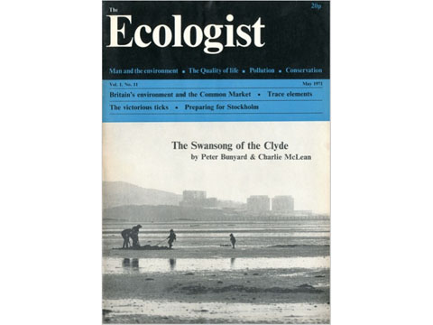 Ecologist Magazine May 1971