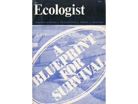 Ecologist cover A Blueprint for Survival January 1972