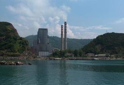 Power in paradise: the Catalgazi coal-fired power plant on turkey's Black Sea coast.