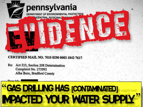 Fracking has contaminated your water supply