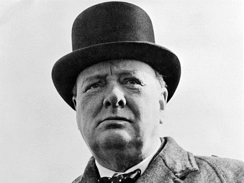 Winston Churchill. Photo: Library of Congress / Wikimedia Commons.