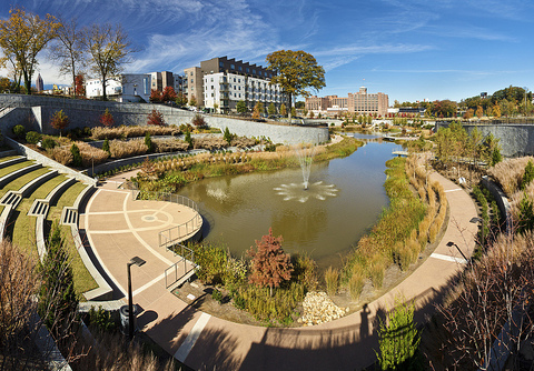 Beltline park - Atlanta comes full circle to embrace alternative transit and sustainable development.
