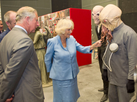 Charles Windsor observes the consequences of eating GM foodstuffs. Photo: princeofwales.gov.uk