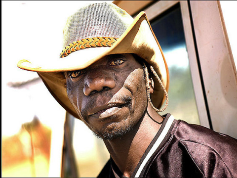 Aboriginal man in Arnhem Land. Photo: Rusty Stewart via Flickr.com.