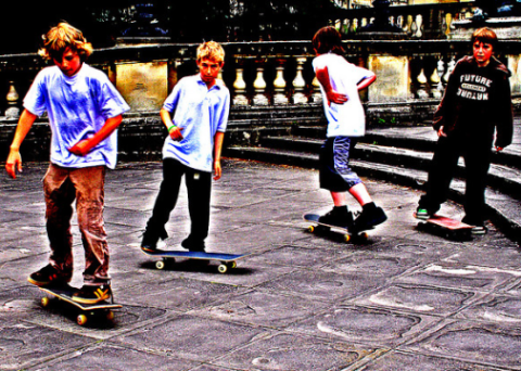 Skateboarders - banned at the stroke of bureaucrats pen. Photo: Norma Desmond via Flickr.com.