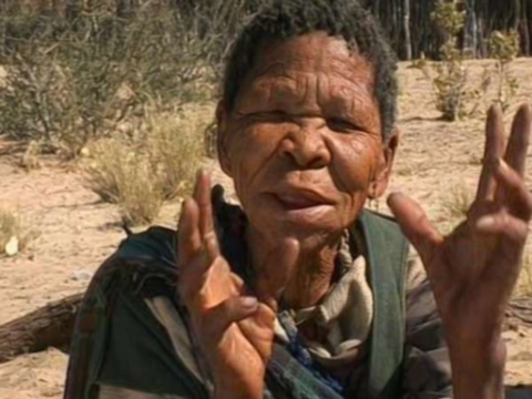 Xoroxloo Duxee died of dehydration after the Bushmen's water borehole was disabled. Photo: © Survival