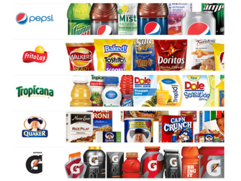 Some major US food brands. Photo:  watchingfrogsboil via Flickr.com.