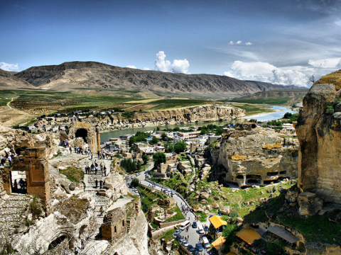 Hasankeyf, a 10,000 year old city in Turkey's Kurdish region, is due to be flooded by the Ilusu dam - giving common cause to the Kurdish minority, and environmental activists. Photo: Omer Unlu via Flickr.com.