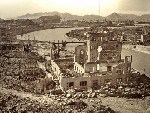 Picture taken at the museum in Hiroshima. It shows the devastation of the A-Bomb dropped on 6 August 1945. Photo: M M via Flickr.com.
