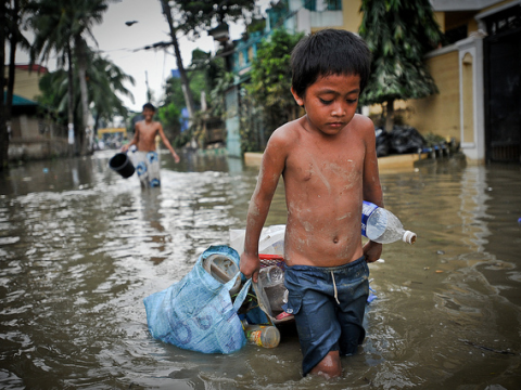 The aftermath of 2009's Typhoon Ketsana, Manila, Philippines. Photo: Asian Development Bank via Flickr.com.