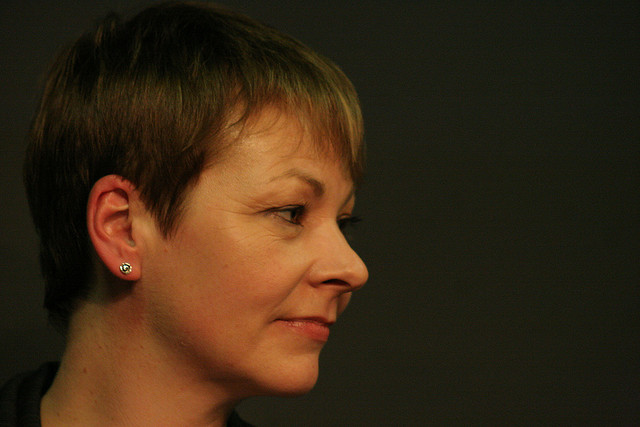 Caroline Lucas MP. Photo: underclassrising.net via Flickr.com.