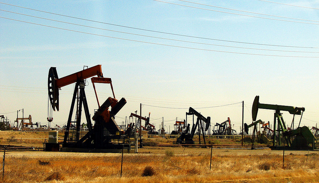 No longer such a hot investment? Oil pumps in California. Photo: CGP Grey via Flickr.com.