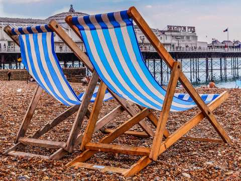 Brighton Beach, August 2013. Photo:  Beverley Goodwin via Flickr.