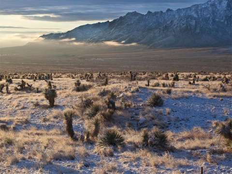 The Organ Mountains of New Mexico, now designated a National Monument. Photo: Bob Wick / BLM California.
