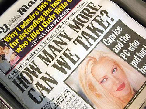 'How many more can we take?' screams a Daily Mail headline. Photo: Gideon via Flickr.