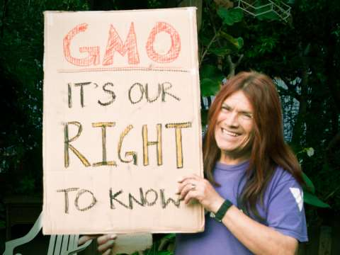 GMO - it's our right to know! Photo: David Goehring via Flickr.