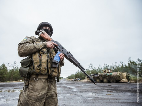 The Ukraine army cuts off main road to Sloviansk in a 'war zone without front lines'. Photo: Sasha Maksymenko via Flickr.