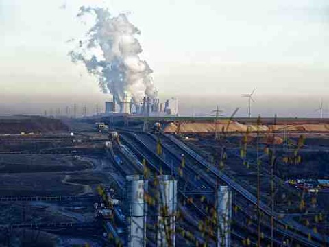 Neurath coal-fired plant, in Germany, is one of Europe's worst polluters. Photo: Bert Kaufmann via Wikimedia Commons.