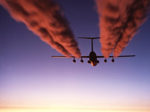 The people who care most about transport emissions are the ones most likely to be causing them - creating a problem for those seeking to regulate them. Photo: USAF.
