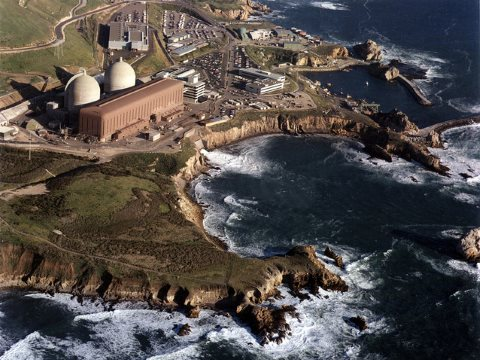 Diablo Canyon in California lies in a seismically active zone totally unsuitable for a nuclear power plant. Photo: Nuclear Regulatory Commission via Flickr.