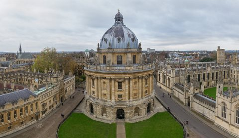 Oxford: the buildings are beyond compare. So is the politics. Photo of the Radcliffe Camera by Chris chabot via Flickr.