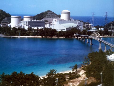 After a history of accidents at the site, the three ageing reactors at Mihama, Japan, are among those likely never to restart. Photo: Kansai Electric Power Co via IAEA Imagebank / Flickr.