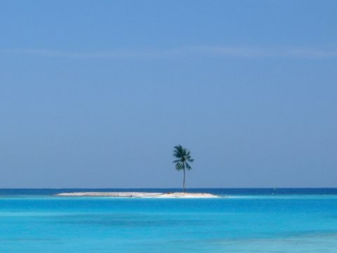 Science can't tell us exactly when the rising oceans will swallow up the Maldives, but it can give us a good idea. Photo: Hiroyuki-H, CC BY-SA.