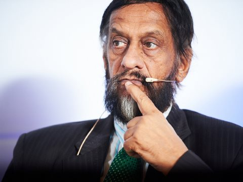 We have the technology - but which? IPCC chairman Rajendra Pachauri. Photo: IPCC Photo / David Plas, via Flickr, © Belspo / Nevens.