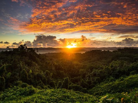 Palau sunrise. Photo: by Y A B via Flickr.