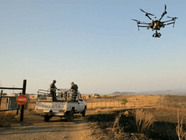 Different types of UAVs work in various challenging situations. Photo: Thomas Snitch (CC BY-NC-ND).