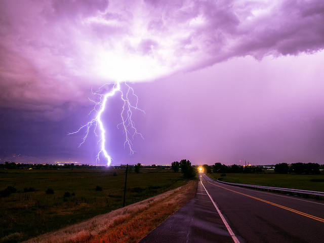 Thunderstorm in Colorado, USA, on 28th June 2013. Photo: Bryce Bradford via Flickr (CC BY-NC-ND).)