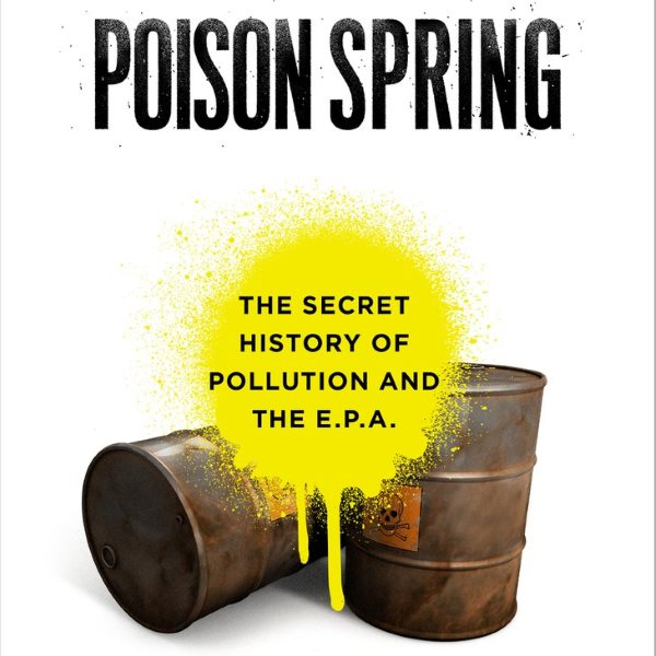'Poison Spring' front cover (cut). Image; Bloomsbury.