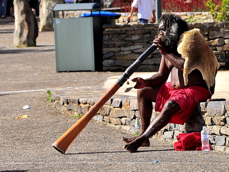 What future for Australia's Aboriginal People as they are forcibly evicted from their homelands, their human rights denied by a fanatically right wing government. Photo: Johanna Alexis via Flickr (CC BY-NC-ND).
