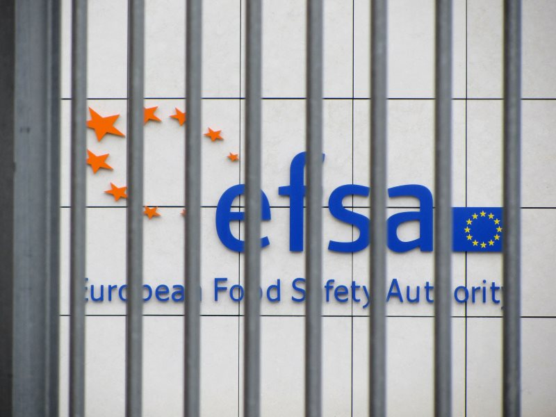 The EFSA headquarters: closed to science and dissent, open to industry 'experts' and lobbyists. Photo: Corporate Europe Observatory via Flickr (CC BY-NC-SA).