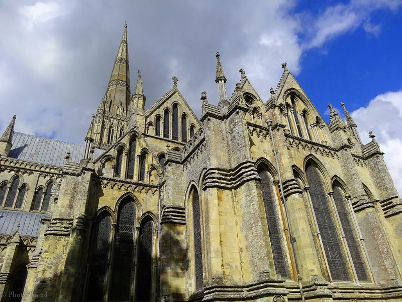 Salisbury Cathedral took 46 years to build. Would Hinkley C be any quicker? Photo: Photo Phiend via Flickr (CC BY-NC-ND).