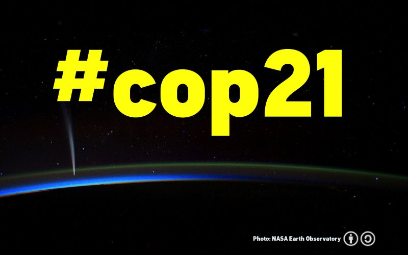 COP21 Image: Ron Mader via Flickr (CC BY-SA).