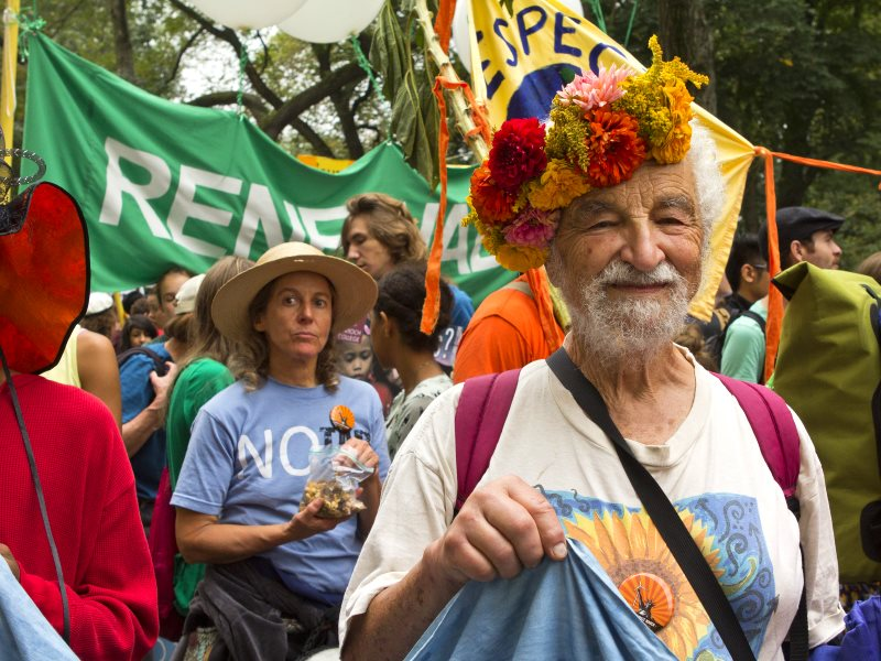 You may not be able to march for the climate in Paris, but there's plenty of other events taking place all over the world. Photo: People's Climate March in New York, 20th September 2014 by Canopic (CC BY-NC-ND).